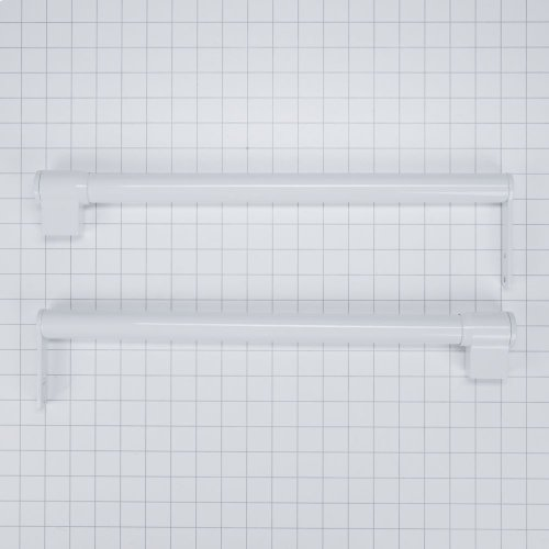 Handle Kit - White Top Mount Contour door