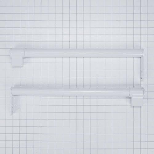 Handle Kit - White Top Mount Contour door