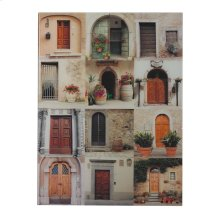 MIN 2-DOOR COLLAGE PHOTOGRAPHY PRINTED ON GLASS