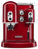 Pro Line® Series Espresso Maker with Dual Independent Boilers - Candy Apple Red Product Image
