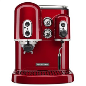 KitchenaidPro Line® Series Espresso Maker with Dual Independent Boilers - Candy Apple Red