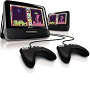 Dual screen portable DVD player Product Image