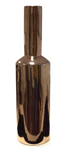 """Sleek Copper Vase 19"""""""