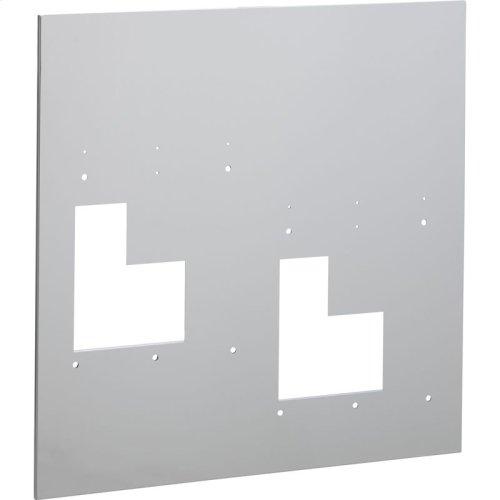 Accessory - Wall Plate (Hi-Lo Bi-Level) for EZ style bi-level models