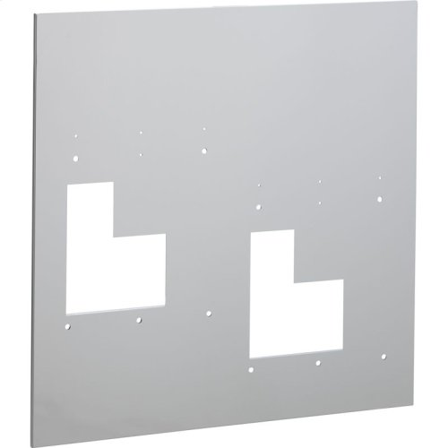 Accessory - Wall Plate (Hi-Lo Bi-Level) for EZ style bi-level models