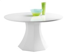 Sanara Round Dining Table - White