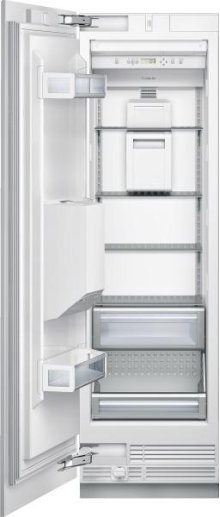 """24"""" Freezer Column with External Ice and Water Dispenser - Left Hinge Door"""