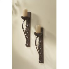 Twisted Pillar Wall Sconce Pair (1 pair)
