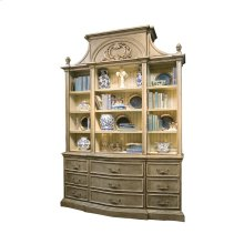 Palladian Bookcase with Art