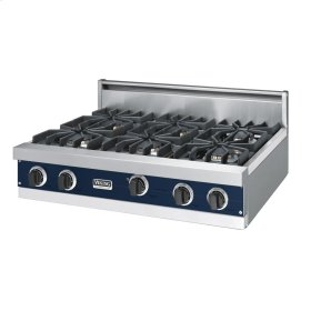 "Viking Blue 36"" Sealed Burner Rangetop - VGRT (36"" wide, six burners)"
