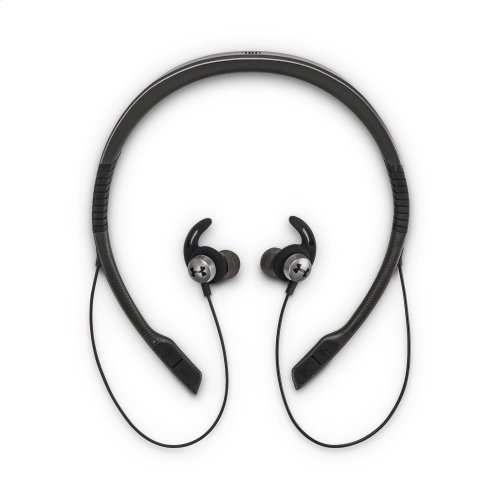 UA Sport Wireless Flex - Engineered by JBL Wireless neckband headphones with all-day comfort and secure fit and safety for sport