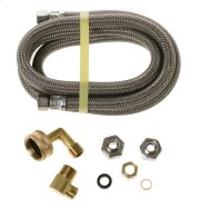 6' Dishwasher Connector Kit with Adapter Product Image