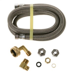 6' Universal Dishwasher Connector Kit with Adapter -