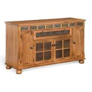 """Sedona 62"""" Counter Height TV Console Product Image"""