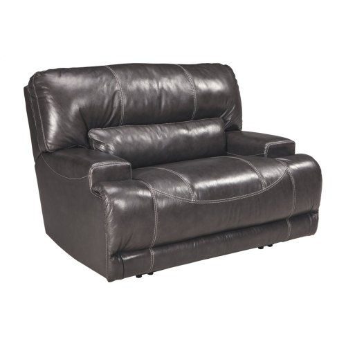 Wide Seat Power Recliner
