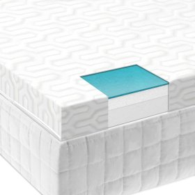 "2.5"" Liquid Gel Mattress Topper - Cal King"