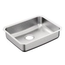 """2000 Series 23"""" x 18"""" stainless steel 20 gauge single bowl sink"""