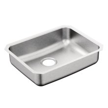"2000 Series 23"" x 18"" stainless steel 20 gauge single bowl sink"