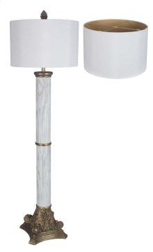 Scamozzi Marble Floor Lamp