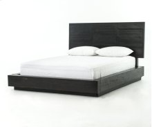 Suki King Bed-burnished Black