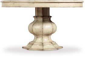 Auberose 52in Round Pedestal Table