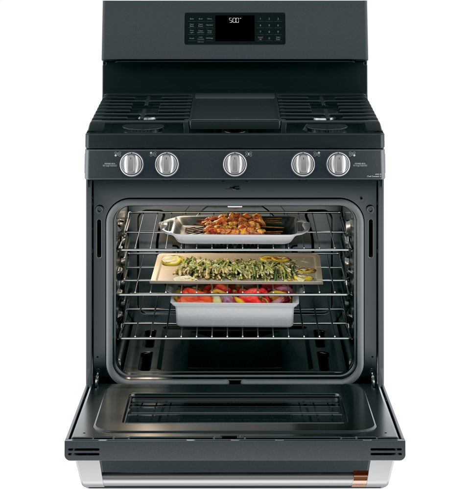 "Caf(eback) 30"" Free-Standing Gas Oven with Convection Range Photo #5"