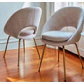 Modern Light Blue Dining Chair