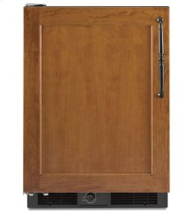 5.7 Cu. Ft. 24'' Specialty Refrigerator, Left-Hand Door Swing, Overlay Panel-Ready - Black