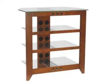 Audio Stand Contemporary design and solid construction come together to create strength and beauty - Cherry