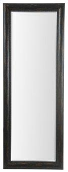 24X64 Bronze Black Framed Mirror Product Image
