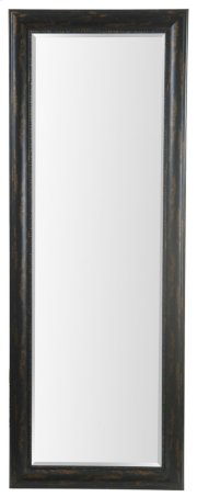 24X64 Bronze Black Framed Mirror Product Image