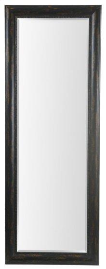 24X64 Bronze Black Framed Mirror