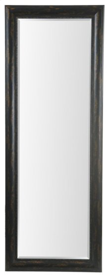 24X64 Bronze Black Framed Mirror