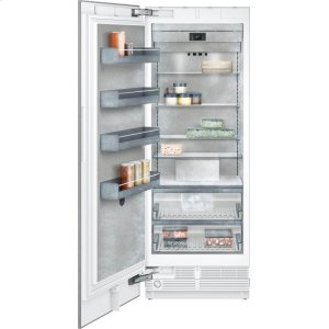 "Gaggenau400 series Vario freezer 400 series Niche width 30"" (76.2 cm) Fully integrated, panel ready"
