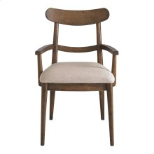 City Center Wood Back Arm Chair