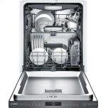 "Bosch 800 Series 24"" Pocket Handle Dishwasher, Shpm78w54n, Black Stainless Steel"