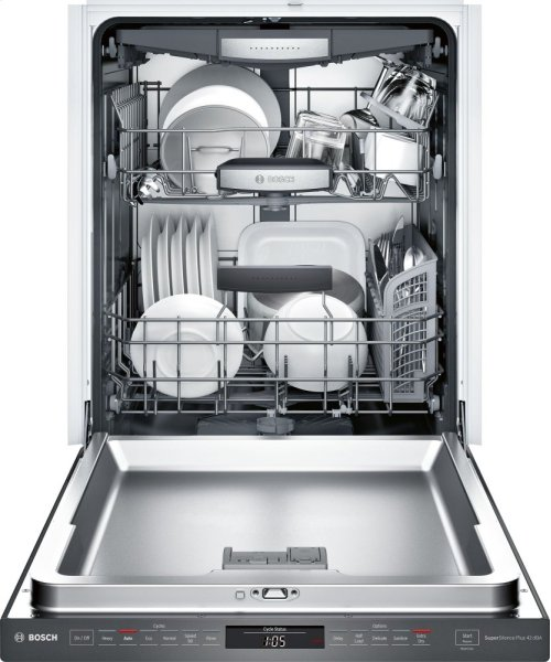 SHPM78W54N Black Stainless Steel