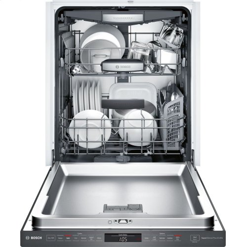 800 Series Dishwasher 24'' Black stainless steel