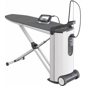 MieleB 3312 FashionMaster Steam ironing system with display and honeycomb soleplate for optimum smoothing.