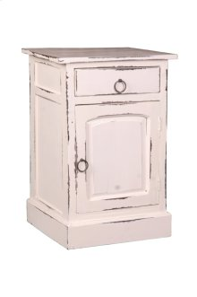 Sunset Trading Cottage Whitewashed Nightstand - Sunset Trading