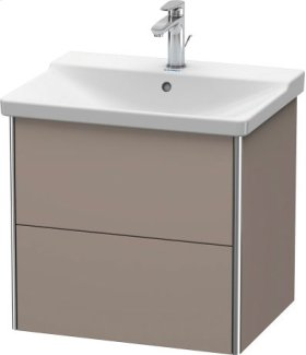 Vanity Unit Wall-mounted, Basalt Matt (decor)