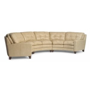 FLEXSTEELHOMESouth Street Leather Sectional