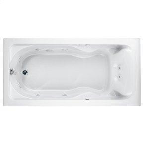 Cadet 72x36 inch Bathtub - White
