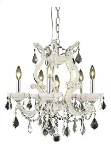 2800 Maria Theresa Collection Hanging Fixture White Finish
