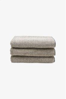 Tasha Bath Towel Black/Linen STYLE: THBT03
