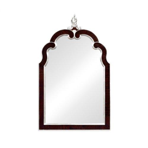 Black Eucalyptus and Silver Hanging Mirror