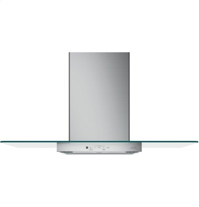 """Café 36"""" Wall-Mount Glass Canopy Chimney Hood Product Image"""