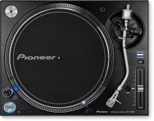 High-torque direct drive professional turntable (black)
