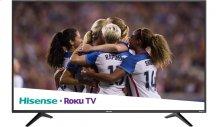 "55"" class R6 series - Hisense 2018 Model Roku TV 55"" class R6E (54.5"" diag.) 4K UHD TV with HDR"