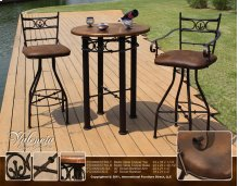 30 Swivel Barstool Arm